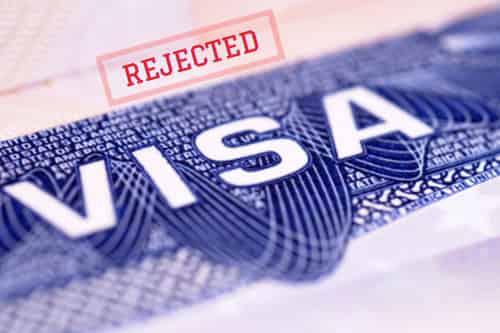Canada visa rejection
